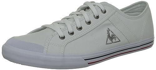 Le Coq Sportif Saint Malo - Zapatillas de tela unisex, Blanco (Blanc (White)), 46: LE COQ SPORTIF: Amazon.es: Zapatos y complementos