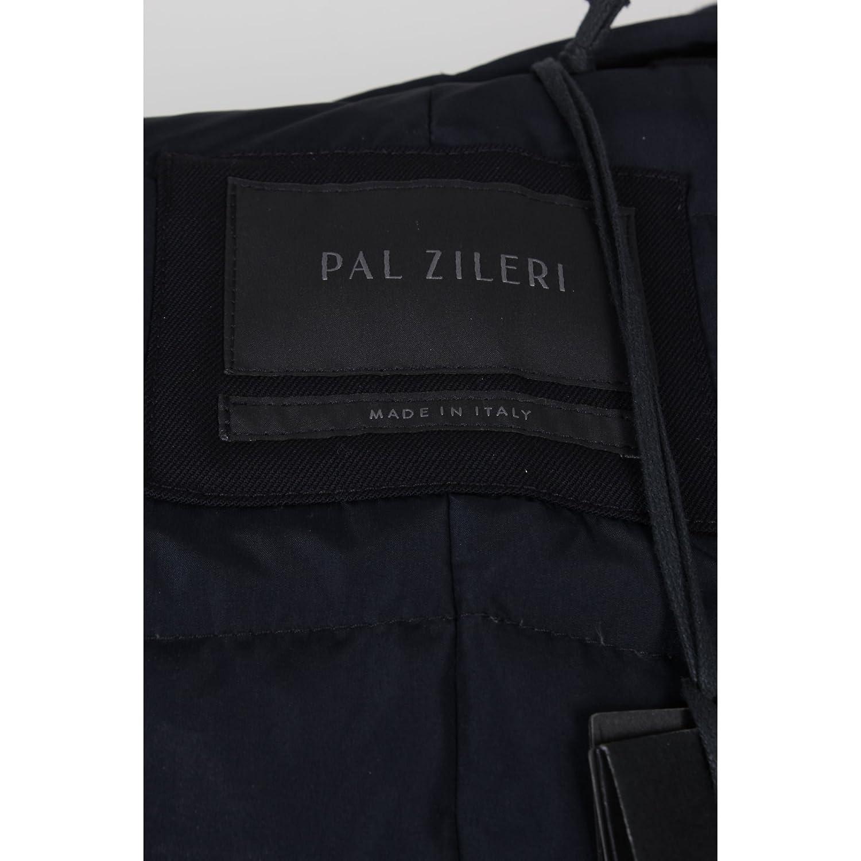 Pal Zileri - Abrigo - para Mujer Azul Azul 52 Regular: Amazon.es: Ropa y accesorios