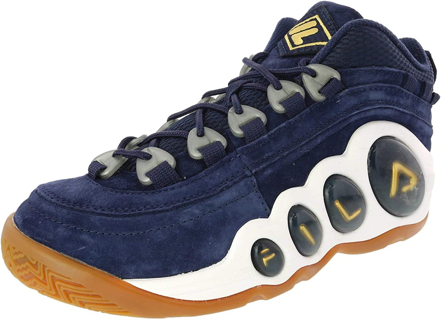 Fila WhiteFrench NavyBlue Bubbles Trainers