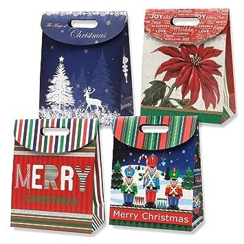 Amazon.com: Bolsas de regalo de Navidad pequeñas ...