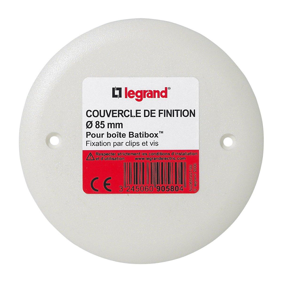 Legrand - Placa embellecedora para caja Batibox (80 x 80 mm): Amazon.es: Bricolaje y herramientas