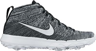 finest selection 0b0c7 30688 Nike Uomo Flyknit Chukka Scarpe da Golf Multicolore Size  40  Amazon.it  Scarpe  e borse