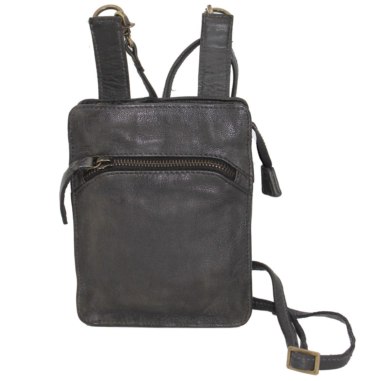 Latico Leathers: Stevie, Authentic Luxury Leather, Designer Fashion (Black)
