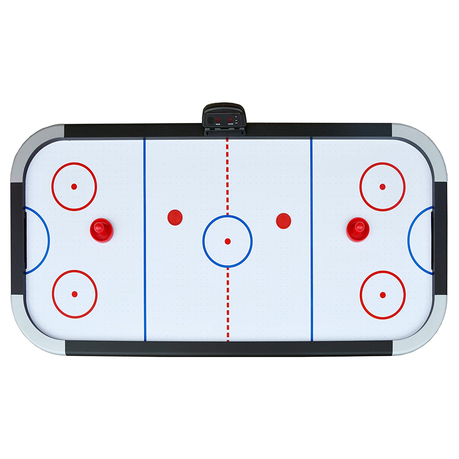 Exceptionnel Amazon.com : Hathaway Silverstreak 5 Foot Air Hockey Game Table For Family  Game Rooms With Electronic Scoring, Pucks U0026 Strikers : Sports U0026 Outdoors