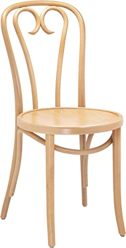 European Bentwood CURLICUE Wood Dining Chairs Natural
