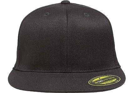 646a3441e1926 Amazon.com  Flexfit Premium 210 Fitted Flat Brim Baseball Hat  Clothing