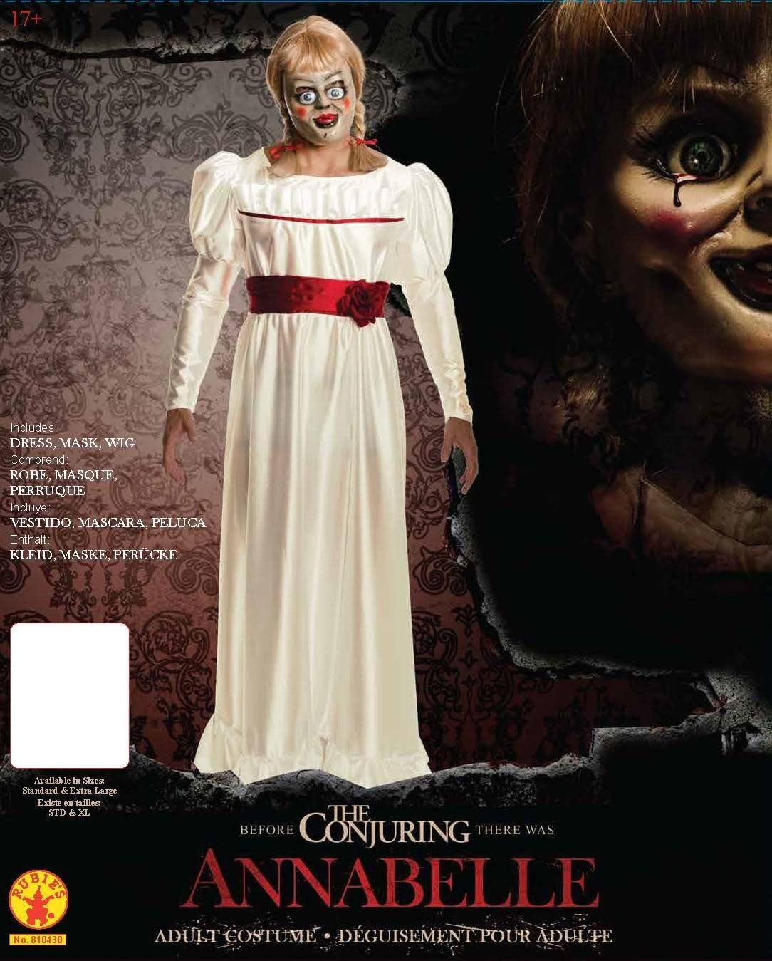 Rubies - Disfraz Oficial de Annabelle para Adulto, película de ...