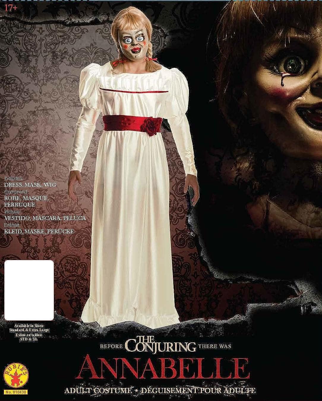 amazoncom rubies annabelle horror costume clothing