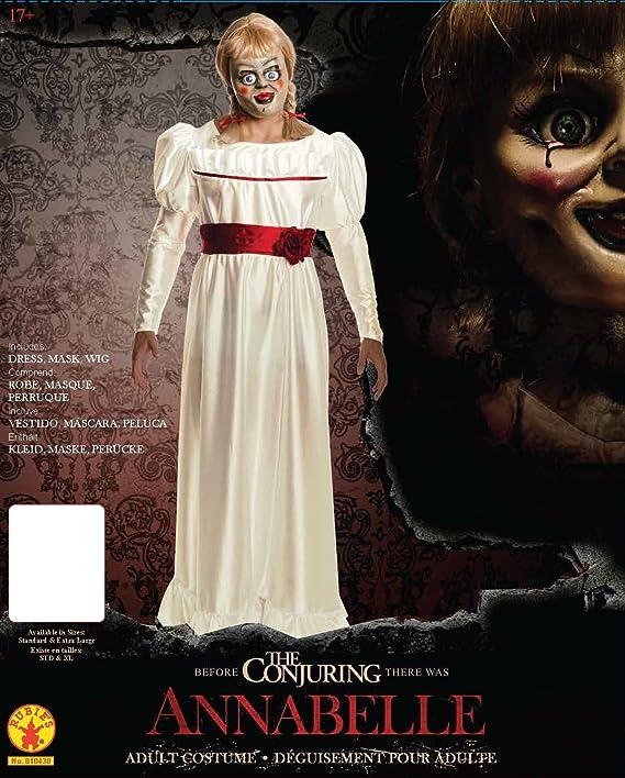 Trucco Annabelle Halloween.Rubie S Men S Annabelle Horror Costume