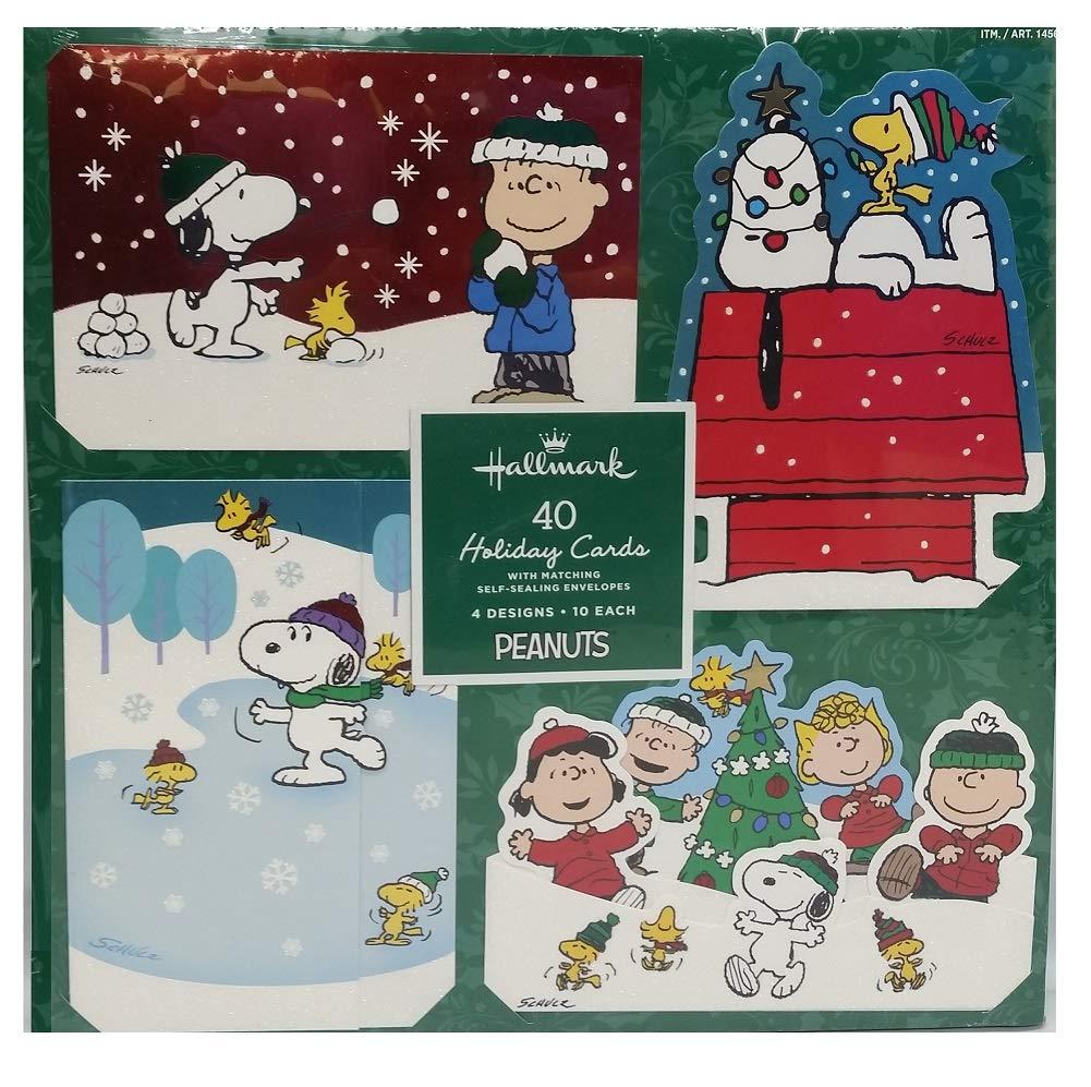 Amazon.com : Snoopy Charlie Brown & Peanuts Gang Holiday Christmas ...