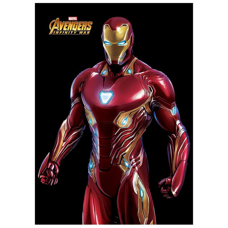 Displate Iron Man Cartel de Metal Infinity War Mural con ...