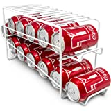 Sorbus Soda Can Beverage Dispenser Rack – Dispenses 12 Standard Size 12oz Soda Cans and Holds Canned Foods