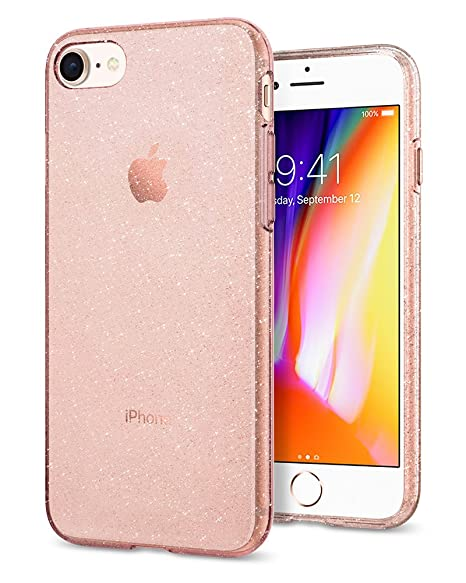coque silicone paillettes iphone 8