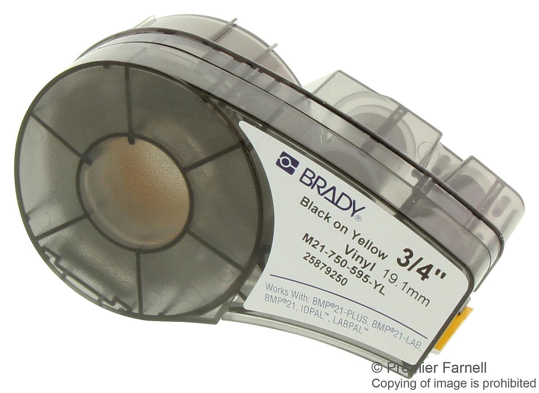 Brady M21 - 750 - 595-yl, b-595 vinilo etiqueta de impresora ...