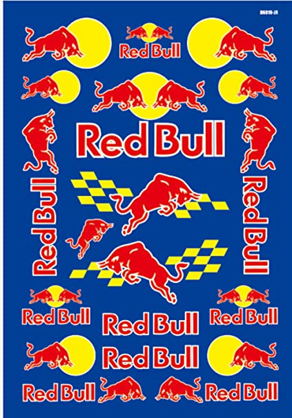 1 red bull racing off road logo car window vinyl decal sticker motocross race racing f1