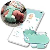 NORA Smart Sock (New 2022 Model). Birth to 3 Years. Heart Rate, Sleep Position, Temperature & Sleeping Tracking. iOS and…