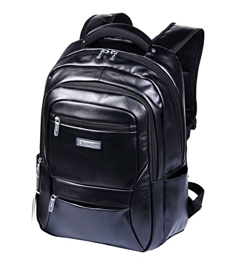 9b2d162499 Videng Polo Business Backpack with USB Charging Port and Headphone  Interface