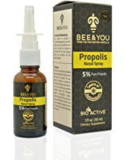 Propolis Nasal Spray 5% Pure Propolis Alcohol-Free - 1 fl oz, 30 ml