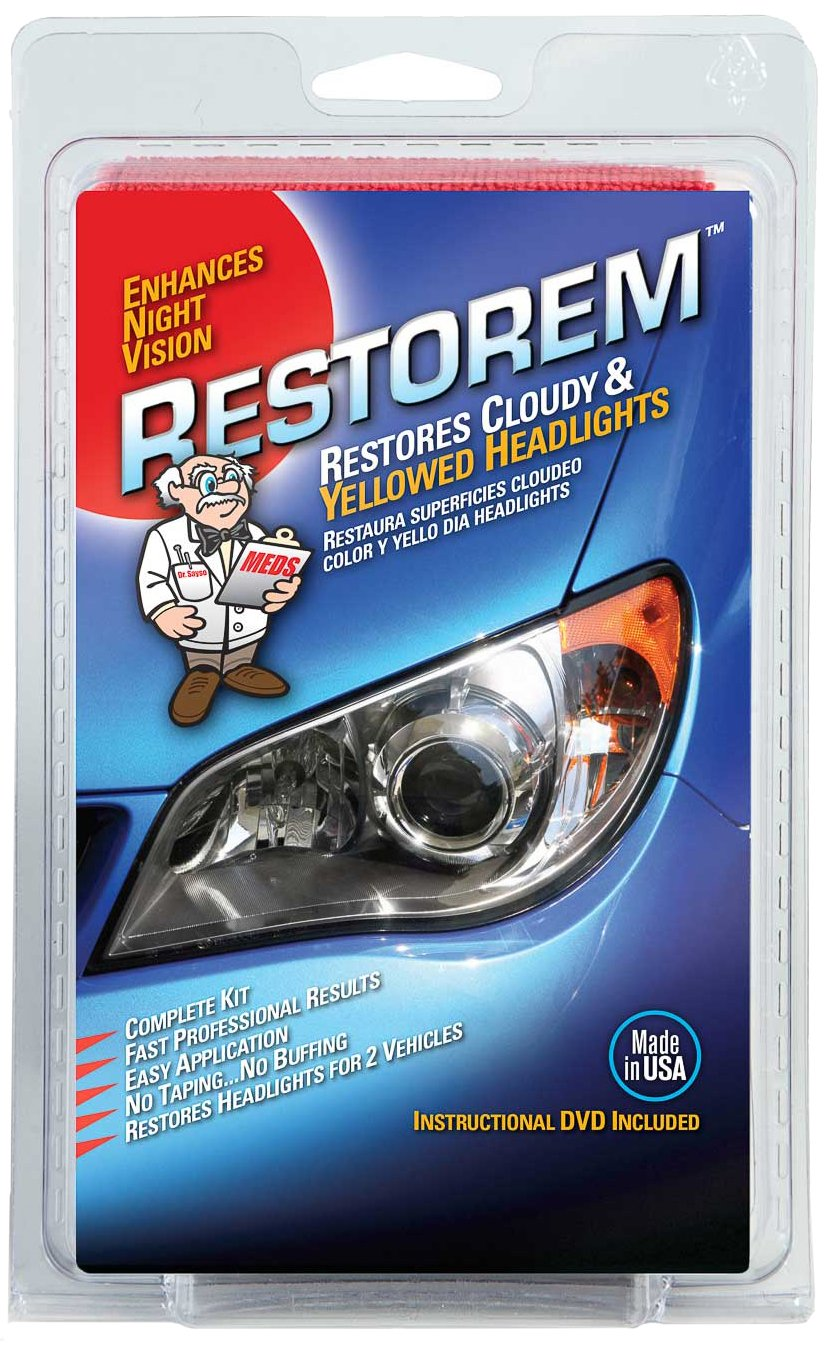 MEDS Restorem (RS102) Headlight Restoration Kit MEDS World