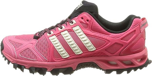 adidas Kanadia TR 6 W F32268 - Zapatos para correr para mujer, rosa - Pink (Bahia Pink S14 / Chalk 2 / Black 1), 38 2/3: Amazon.es: Zapatos y complementos