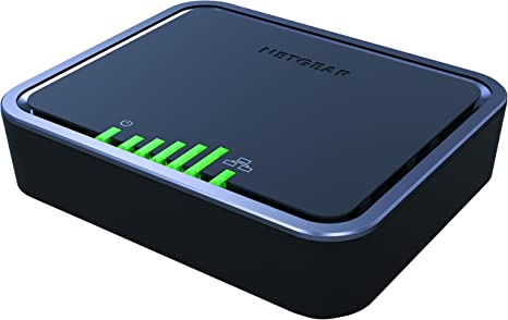 Netgear 4g Lte Modem With Two Gigabit Ethernet Ports Instant Broadband Connection Works With At T And Alternate Carriers Lb2120