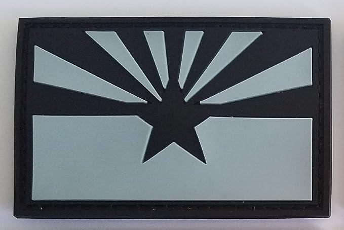 Arizona State Flag Patch PVC Green Camo