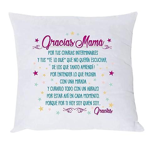 COJIN con Texto Gracias MAMÁ. Regalo Dia DE LA Madre. Regalo ...
