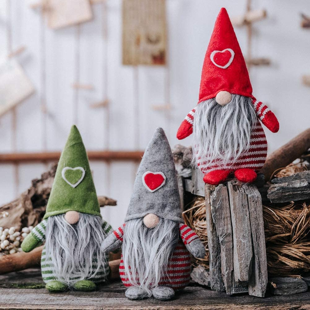 Weighted Bottom Holiday Esstentials Yule Tomte Swedish Gnome 11 Tomte Plush Handmade Christmas Decorations
