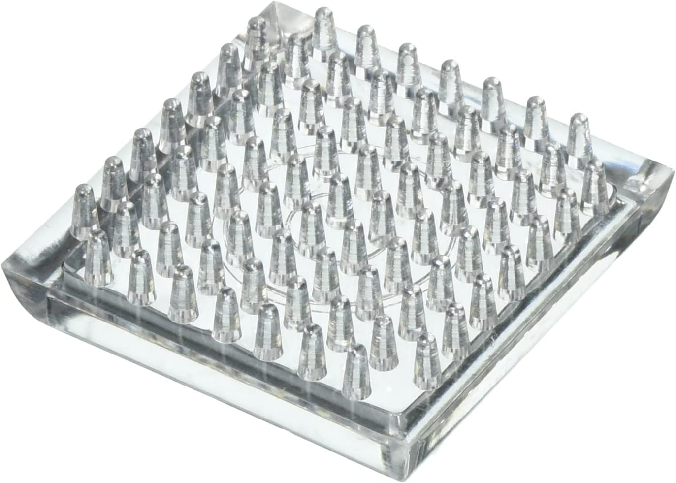 PROSOURCE FE-50890-PS Spiked Caster Furniture Glide, L X 1.812 in W, Square/Cup