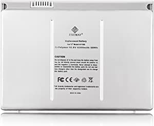 Egoway Replacement Battery for MacBook Pro 17 inch A1189 A1151 A1212 A1229 A1261 (Aluminum Body as Original)