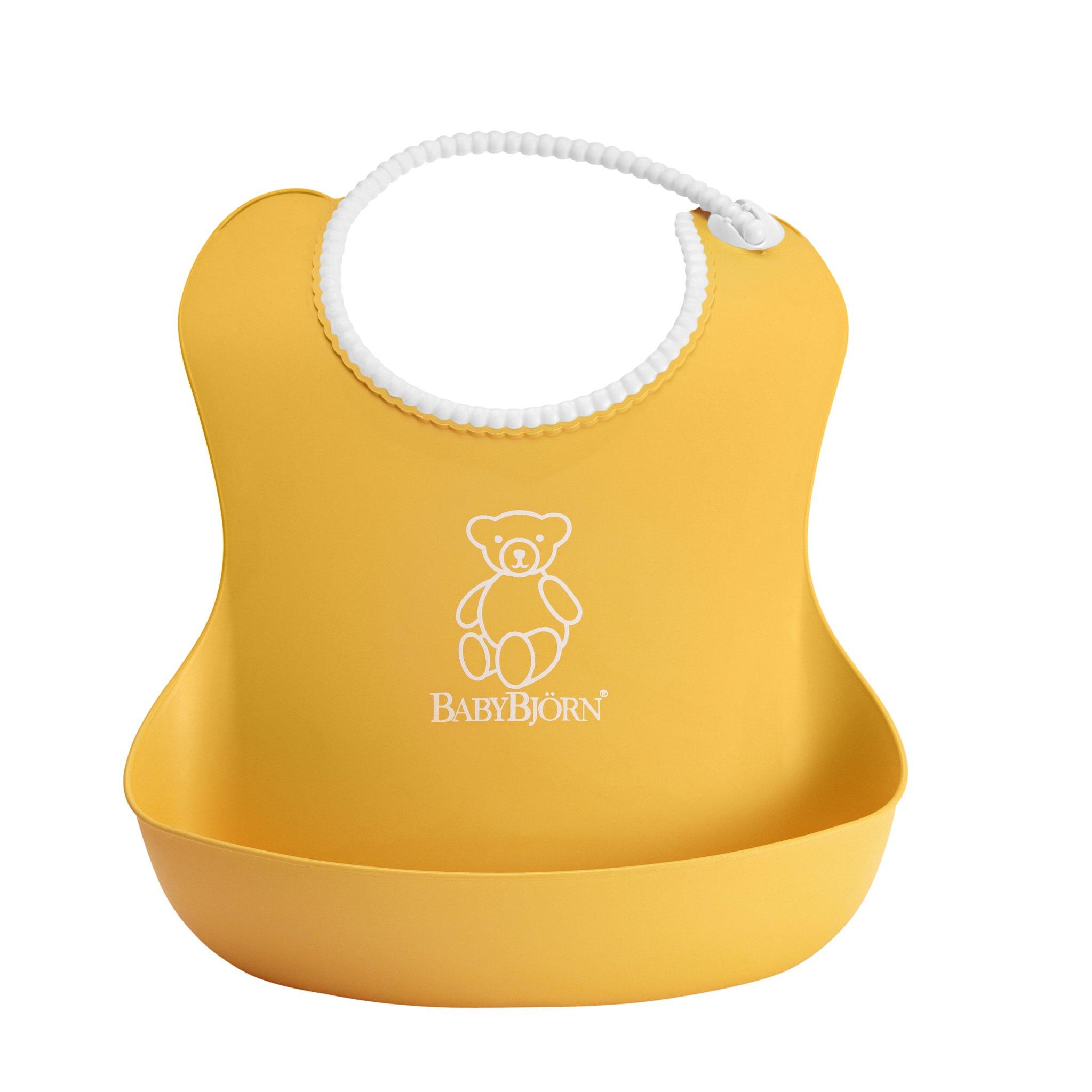 3034549ec84 Amazon.com   BABYBJORN Soft Bib - Orange   Baby