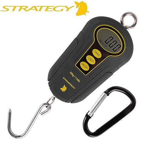 Strategy Digital Scale 50 kg – Bilancia digitale per pesce pesca alla carpa    Pesci Predatori 38e9187ae4ae