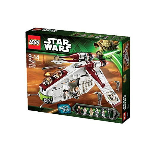 35 opinioni per LEGO Star Wars Tm 75021- Republic Gunship