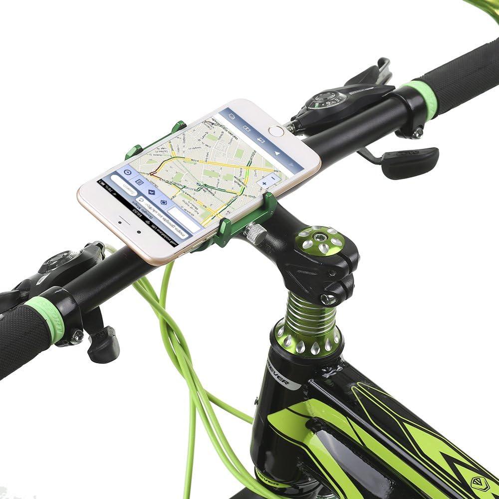 Leepesx Mobile Phone Holder Mount Bicycle Phone Navigation Fixed Bracket Moto Handlebar Aluminum Alloy Bike Rack