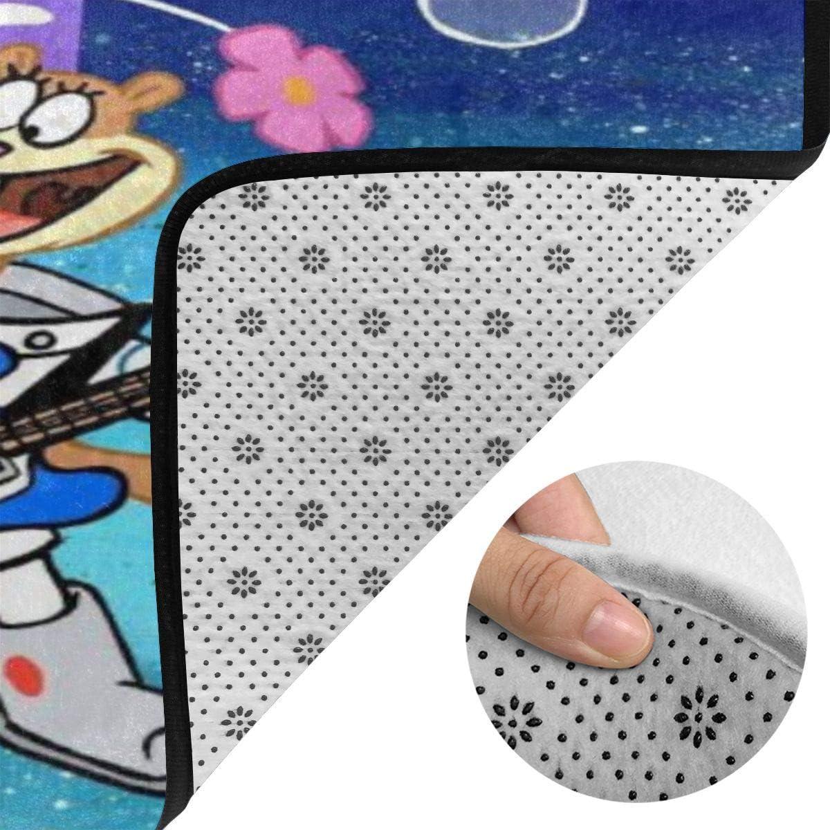 Beautiful Spongebob Squarepants Super Soft Modern Non-Slip Living Room Rug