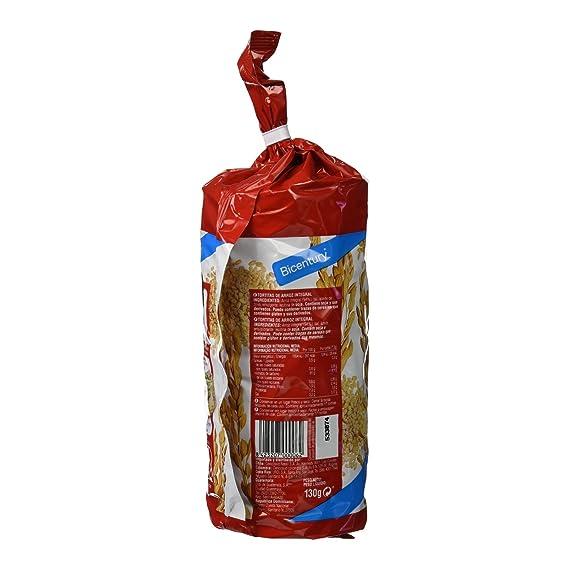 Bicentury - Tortitas De Arroz Integral Nackis - 130 g: Amazon.es: Alimentación y bebidas