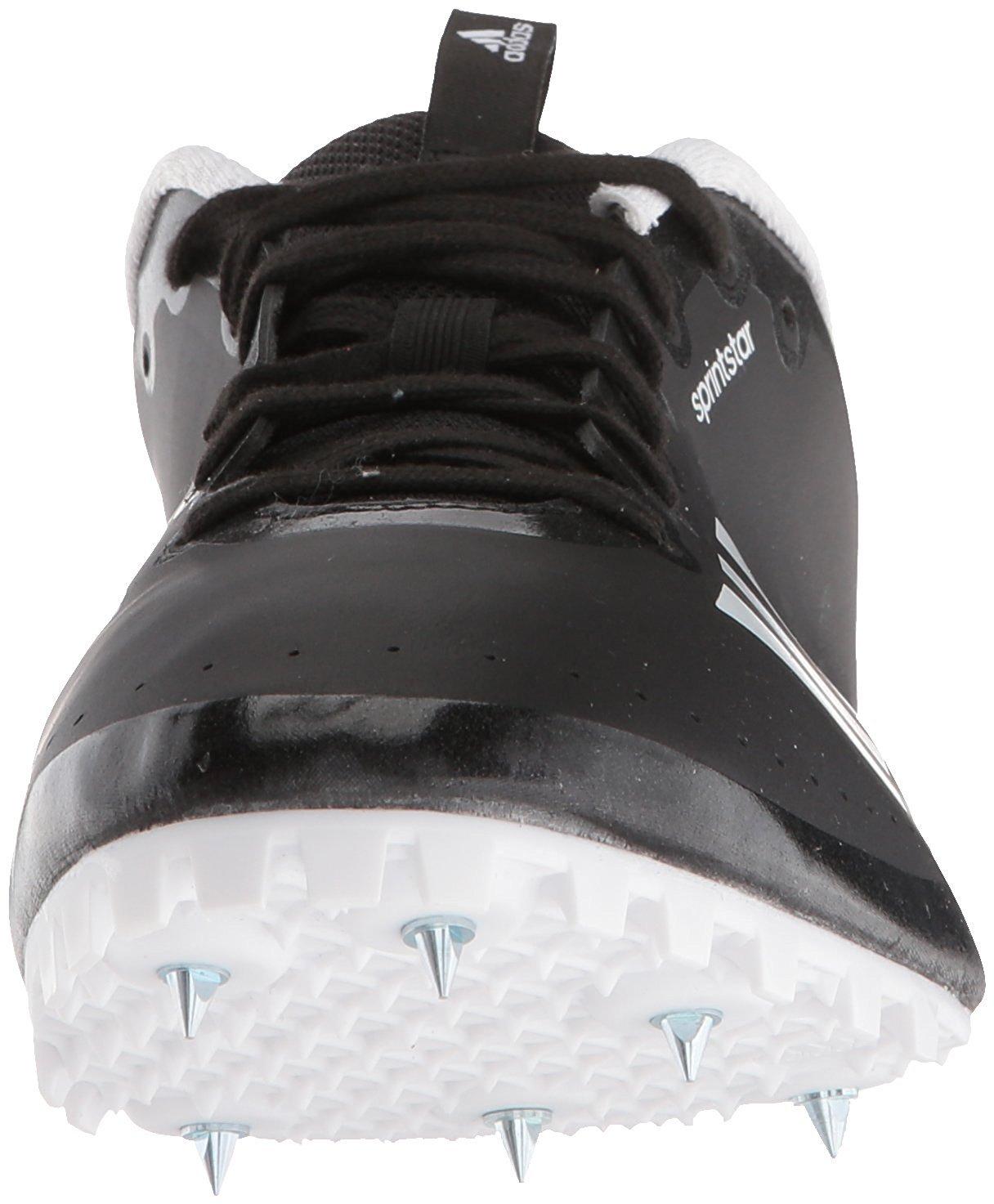 adidas Women's Sprintstar w, core Black/Orange/White, 12 M US by adidas (Image #2)