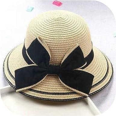 New Unisex Summer Floppy Straw Sun Hat Ladies Beach Wide Brim Visor Panama Cap