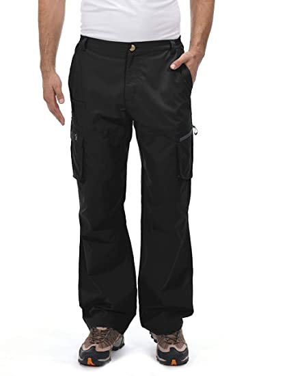 259a02ea01 Little Donkey Andy Men's UPF 50+ UV Protection Cargo Pants, Moisture  Wicking Hiking Pants, Lightweight and Breathable