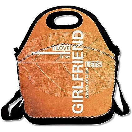 160110f80a07 Amazon.com: Emmwhite Lunch Bag Men Lunch Bag Women I Love It My ...