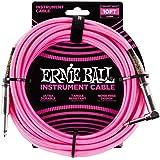Ernie Ball - Cable para instrumentos, Rosado Neón, 10 ft.