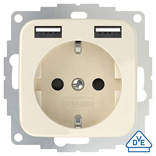 2USB inCharge Pro SI - Enchufe con protección de contacto ...