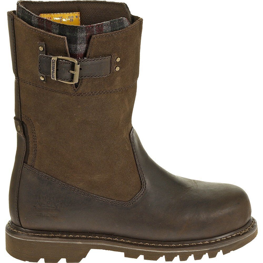 Caterpillar Women's Jenny Steel Toe Bark Merina Boot