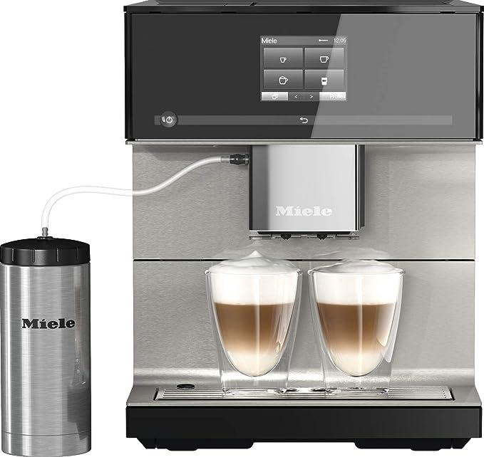 Miele CM 7550 - Cafetera automática (smartphone con WiFiConnect, cafetera con descalcificación automática), color blanco: Amazon.es: Hogar