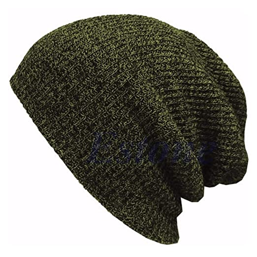 4445d0382c0 cbgxvd Knitted Hat Women s Winter Warm Casual Slouchy Hat Crochet Ski Beanie  Hat Female Soft Baggy