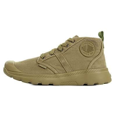 b0fbcb62304fe8 Palladium Palavil Hi Dark Khaki Cedar Green 74092G15, Bottines - 44 ...