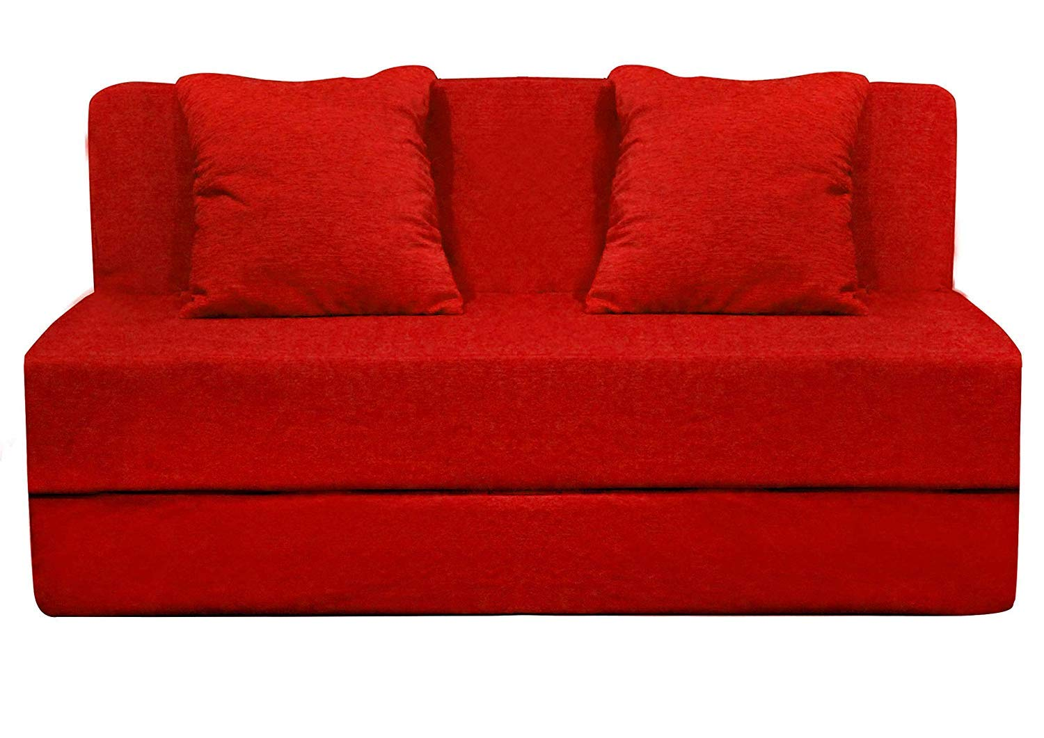 Aart Store High Density Foam 4X6 Feet Two Seater Sofa Cums