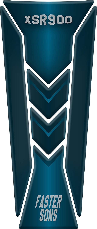 Protège Réservoir Moto Tank Pad Sticker Autocollant YAMAHA XSR 900 (Black)