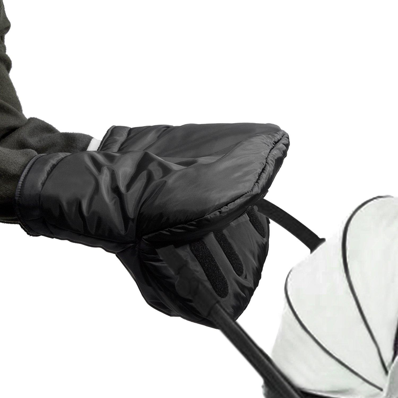 HBF Manoplas Guantes Impermeable Para Silla De Paseo Guantes Rectángulo Guantes Calentitos