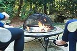 "Catalina Creations 28"" Heavy Duty Fire Pit, Easy"